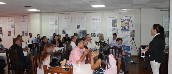 Colombia Nos Une genera nuevos espacios de integración y se reunió con más de 50 colombianos en el Consulado en Caracas